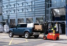 Land Rover Defender lichte vracht heet Hard Top, komt eind 2020