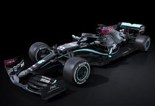Mercedes F1 kleurt livery zwart voor Black Lives Matter-beweging