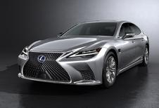 Lexus LS krijgt subtiele facelift