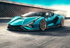 Lamborghini Sian nu ook als Roadster
