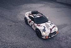 Nissan GT-R gaat op Safari