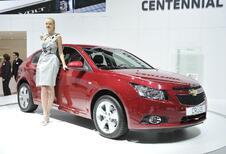 Vidéo Genève : Chevrolet Cruze 5-portes