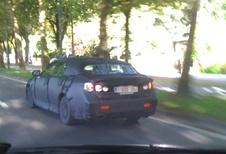 Lexus GS camouflée à Bruxelles