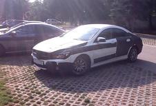 Mercedes CLA capturée