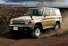 Toyota Land Cruiser 70 de retour au Japon