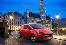 Salon van Brussel 2015: Wereldpremière Opel Corsavan