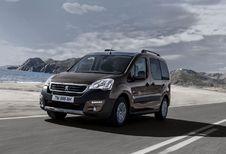 Salon van Genève 2015: Peugeot Partner Tepee krijgt op zijn beurt facelift