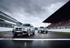 BMW X6 M & Range Rover Sport Supercharged : Séquence provocation