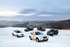 Mercedes GLK 220 CDI 4Matic, Volvo XC60 D3, Audi Q5 2.0 TDI 170, Land Rover Freelander TD4 en BMW X3 20d xDrive : De puntjes op de i