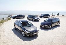 Citroën C5 Tourer - Opel Insignia Sports Tourer - Peugeot 508 SW - Renault Laguna Grandtour - Volkswagen Passat Variant : Rififi chez les breaks