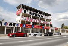Corvette Z06, Ferrari 458 Italia,Mercedes SLS AMG et Porsche 911 Turbo S