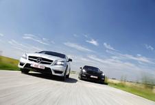 Mercedes CLS 63 AMG - Porsche Panamera Turbo S : Tussen supercar en limousine