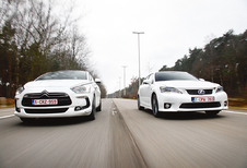 Citroën DS5 HYbrid4 vs Lexus CT 200h : Diesel of benzine?