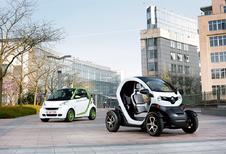 Renault Twizy vs Smart Fortwo Electric Drive : Stadsspeeltjes
