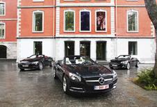 BMW 650i Cabrio, Jaguar XK Cabrio en Mercedes SL 500: Gran Turismo aperto