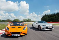 Lotus Elise S - Subaru BRZ : As contre as