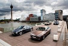Audi A7 Sportback 3.0 TDI 313, BMW 640d GranCoupé, Mercedes CLS 350 CDI et Porsche Panamera Diesel : Le grand jeu