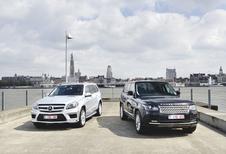 Mercedes GL vs Range Rover : Avonturen in stijl