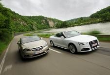 Audi A5 2.0 TDI Cabrio et Opel Cascada 2.0 CDTI : La lutte des classes