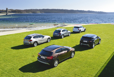 Audi Q3 2.0 TDI, BMW X1 18d sDrive, Mercedes GLA 200 CDI, Range Rover Evoque ED4 en Mini Countryman SD : Booming business