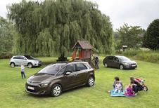 Citroën C4 Picasso 1.6 e-HDi 116, Mitsubishi ASX 1.8 DI-D 115 en Peugeot 308 SW 1.6 BlueHDi 115 : Huisvrienden