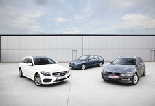 Audi A4 2.0 TDI 150, BMW 320d et Mercedes C 220 BlueTEC : Break, mon beau break