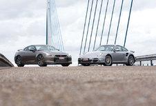 NISSAN GT-R • PORSCHE 911 TURBO: Hard tegen onzacht