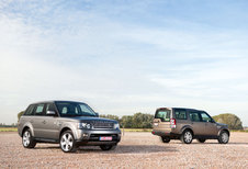 LAND ROVER DISCOVERY 4 3.0 TDV6 // RANGE ROVER SPORT V8 SUPERCHARGED : Onder de Wapens