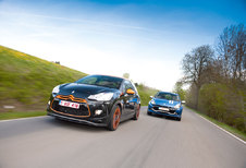 CITROËN DS3 RACING • RENAULT CLIO GORDINI RS : Napoleon of Sarkozy?