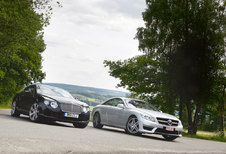 BENTLEY CONTINENTAL GT • MERCEDES CL 63 AMG (PERFORMANCE PACKAGE) : Engeland-Duitsland