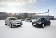 BMW 2-Reeks Active Tourer, Mercedes B-Klasse, Opel Zafira en Volkswagen Golf Sportsvan : Hetzelfde maar dan anders