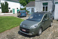 CITROËN BERLINGO BREAK 1.6 HDi • PEUGEOT PARTNER TEPEE 1.6 HDi : Familie kwesties
