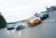 BMW 130i • FORD FOCUS ST • OPEL ASTRA GTC • VOLKSWAGEN GOLF R32 : Fight club