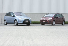 CITROËN C4 PICASSO 1.6 HDi • FORD C-MAX 1.8 TDCi : Voor (niet te) grote familie
