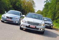 BMW 320d • LEXUS IS 220d • MERCEDES C 220 CDI : Zakelijk belang