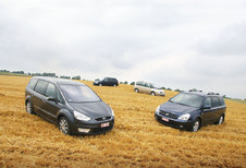 CHRYSLER VOYAGER 2.5 CRD // FORD GALAXY 2.0 TDCi // KIA CARNIVAL 2.9 CRDi // RENAULT GRAND ESPACE 2.0 dCi : Rijke oogst