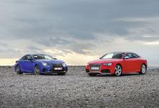 Audi RS5 vs Lexus RC F : Docteur Jekyll & Mister Hyde