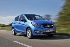 Opel Karl: zonder capsones