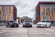 BMW 218D ACTIVE TOURER // MERCEDES B 220 CDI // VOLKSWAGEN GOLF 2.0 TDI SPORTSVAN : Heilige huisjes
