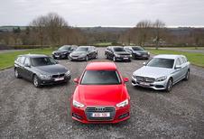 Zevenkamp - De Audi A4 Avant en Mercedes C-Klasse Break tegenover 5 rivalen