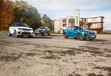 BMW X6 M // MERCEDES-AMG GLE 63 S COUPÉ // RANGE ROVER SPORT SVR : Bromberen