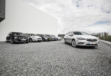 Opel Astra Sports Tourer tegen 5 breaks