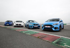 La Ford Focus RS face à 3 rivales