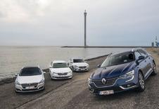 Renault Talisman Grandtour tegen 3 concurrenten