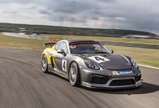 Porsche Cayman GT4 Clubsport: naar het circuit