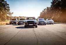 AUDI Q7 E-TRON QUATTRO // BMW X5 XDRIVE40e // PORSCHE CAYENNE S E-HYBRID // MERCEDES GLE 500 e 4MATIC // VOLVO XC90 T8 eAWD : Excuustruzen