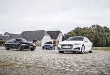 Audi A5 Coupé face à 2 rivales