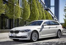 BMW Série 5 Touring : Cargo feutré