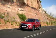 Mitsubishi Eclipse Cross : point d'inflexion