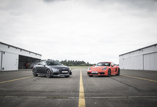 Audi TT RS vs Porsche 718 Cayman S